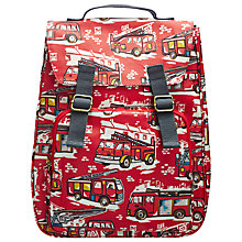 Buy Cath Kidston Fire Engine Rucksack, Red Online at johnlewis.com