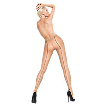 Buy Wolford Darlin Back Seam Tights Online at johnlewis.com