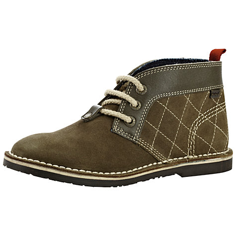 Buy Kickers Adlar Jnr Boots, Dark Green Online at johnlewis.com