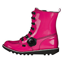 Buy Kickers So High Boots, Pink Online at johnlewis.com