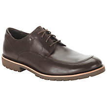 Buy Rockport Ledge Hill Moc Front Leather Derby Shoes Online at johnlewis.com