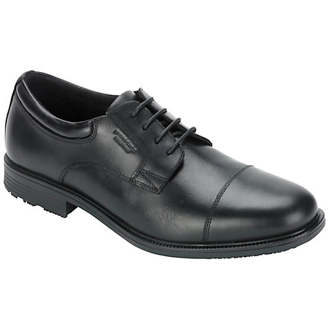 Buy Rockport Essent Detail Cap Toe Leather Derby Shoes Online at johnlewis.com