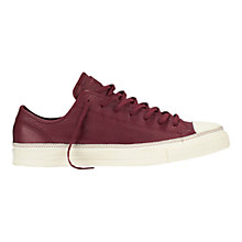Buy Converse Chuck Taylor Clean Leather Trainers Online at johnlewis.com