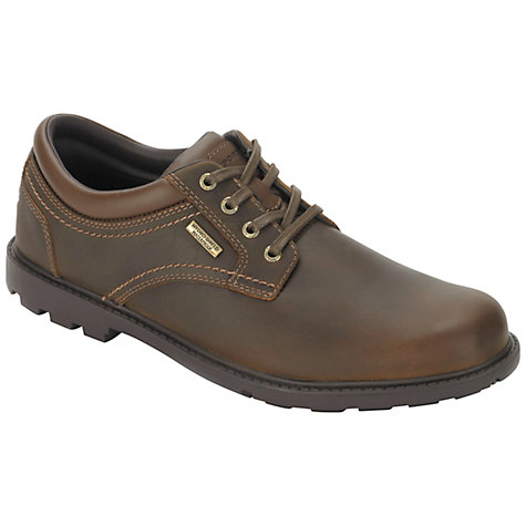 Buy Rockport Rugged Bucks Waterproof Derby Shoes, Tan Online at johnlewis.com