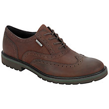 Buy Rockport Ledge Hill Wing Tip Leather Brogue Shoes Online at johnlewis.com