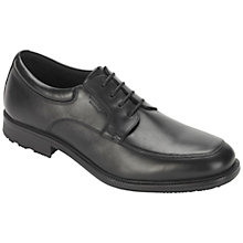 Buy Rockport Essent Detail Apron Waterproof Leather Derby Shoes Online at johnlewis.com