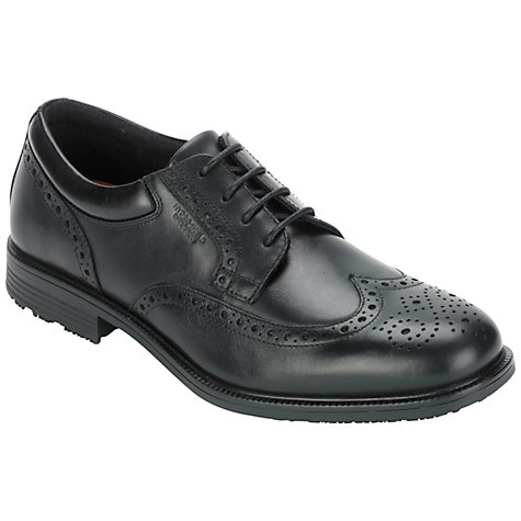 Buy Rockport Essent Brogue Waterproof Leather Derby Shoes Online at johnlewis.com