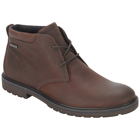 Buy Rockport Ledge Hill Waterproof Leather Chukka Boots Online at johnlewis.com