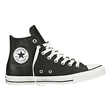 Buy Converse Chuck Taylor Leather Hi-Top Trainers Online at johnlewis.com