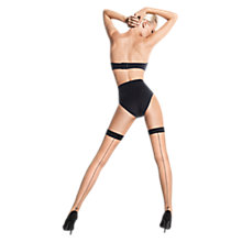 Buy Wolford Darlin Back Seam Hold Ups Online at johnlewis.com