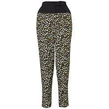 Buy Whistles Scattered Petal Silk Trousers, Multi Online at johnlewis.com