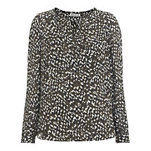 Buy Whistles Marlowe Petal Blouse, Multi Online at johnlewis.com
