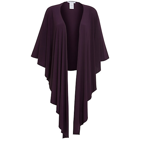 Buy Gina Bacconi Jersey Shawl, Cranberry Online at johnlewis.com