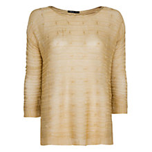 Buy Mango Stripe Texture Jumper Online at johnlewis.com