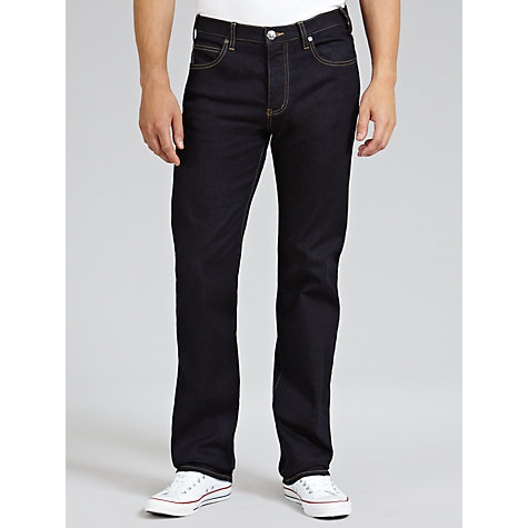 Buy Armani Jeans Straight Jeans, Dark Rinse Online at johnlewis.com