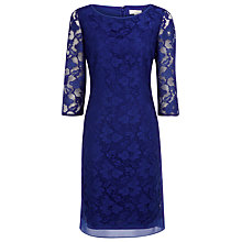 Buy Kaliko Lace Dress, Blue Online at johnlewis.com