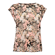 Buy Oasis Botanical Print T-Shirt, Multi Online at johnlewis.com