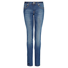 Buy Mango Slim Fit Jeans, Navy Online at johnlewis.com