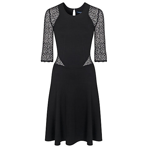 Buy French Connection Vienna 3/4 Sleeve Dress Online at johnlewis.com