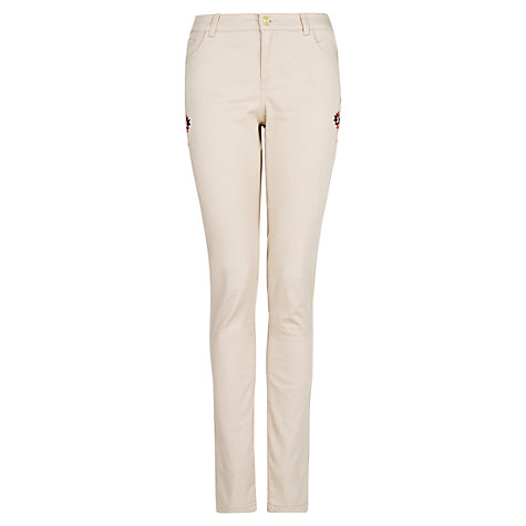 Buy Mango Ethnic Embellished Trousers Online at johnlewis.com