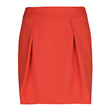 Buy Mango Pleated Skirt, Bright Orange Online at johnlewis.com