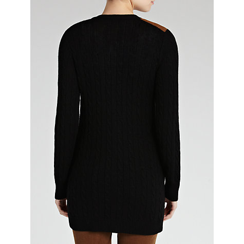 Buy Lauren by Ralph Lauren Long Sleeve Cardigan, Black Online at johnlewis.com