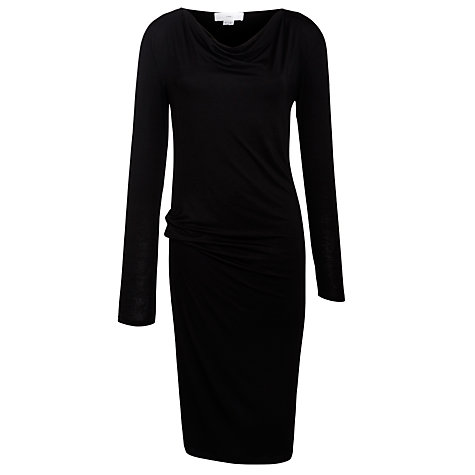 Buy CHARLI Malou Jersey Dress, Black Online at johnlewis.com