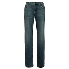 Buy Lauren by Ralph Lauren Slimming Classic Straight Jeans, Sedona Wash Online at johnlewis.com