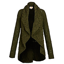 Buy Avoca Aga Cardigan, Pine Green Online at johnlewis.com