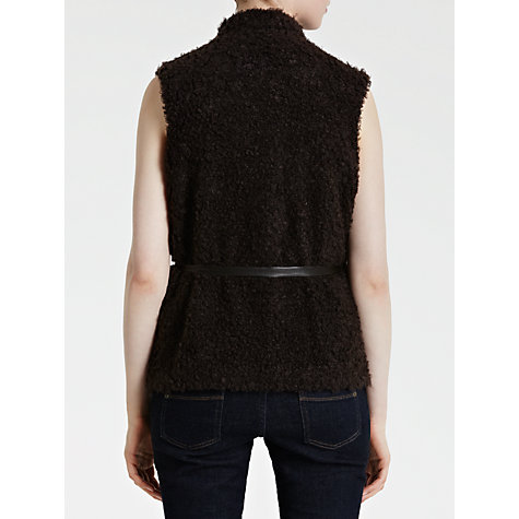 Buy Avoca Textured Gilet, Walnut Online at johnlewis.com