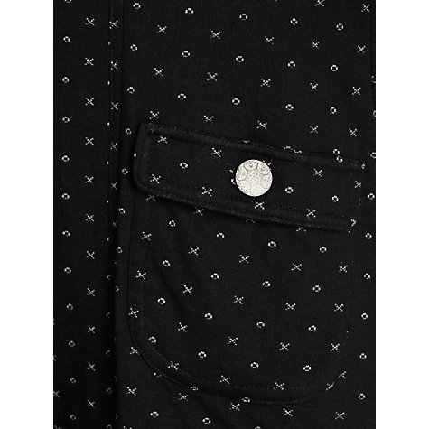 Buy Avoca Noughts & Crosses Coat, Black Online at johnlewis.com