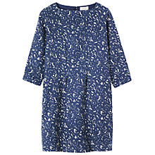 Buy Toast Rose Print Dress, Indigo/Ecru Online at johnlewis.com