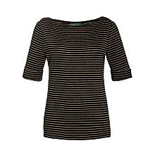 Buy Lauren by Ralph Lauren Boat Neck Top Online at johnlewis.com