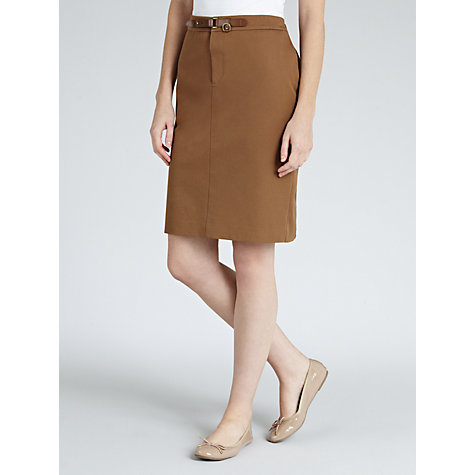 Buy Lauren by Ralph Lauren Skirt, Highland Taupe Online at johnlewis.com
