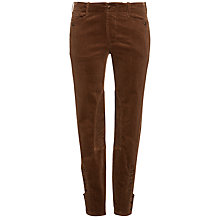 Buy Lauren by Ralph Lauren Corduroy Trousers, Brown Online at johnlewis.com