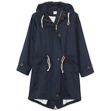 Buy Toast Fishtail Parka Coat, Navy Online at johnlewis.com