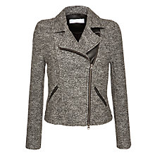 Buy Charli Olivia Biker Jacket, Charcoal Online at johnlewis.com