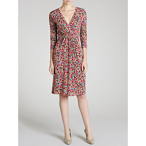 Buy Avoca Anthology Waterfall Spot Print Dress, Multi Online at johnlewis.com