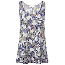 Buy White Stuff Flutterby Vest Top, Komono Purple Online at johnlewis.com