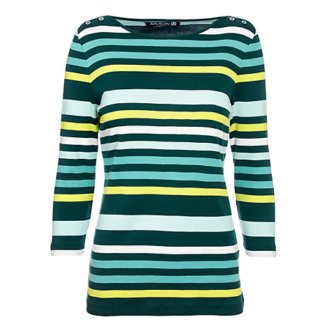 Buy Betty Barclay T-Shirt, Blue / Dark Green Online at johnlewis.com