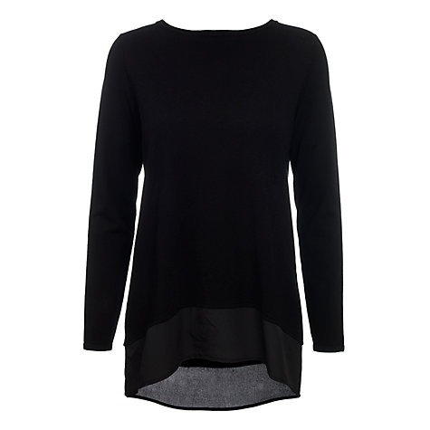 Buy Betty Barclay Chiffon Hem Jumper Online at johnlewis.com