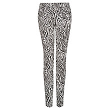 Buy Mango Animal Print Slim Fit Trousers Online at johnlewis.com