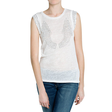 Buy Mango Strauss Wings T-Shirt Online at johnlewis.com