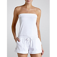 Buy Seafolly Bounty Playsuit, White Online at johnlewis.com