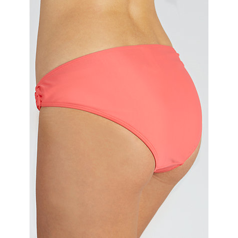 Buy John Lewis Plains Ring Detail Bikini Briefs Online at johnlewis.com