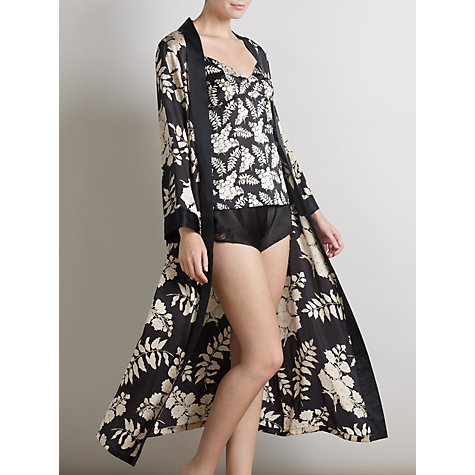 Buy Somerset by Alice Temperley Alice Floral Robe, Black / Multi Online at johnlewis.com