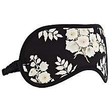 Buy Somerset by Alice Temperley Alice Floral Eye Mask, Black / Multi Online at johnlewis.com