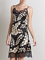 Somerset by Alice Temperley Alice Floral Chemise, Black / Multi