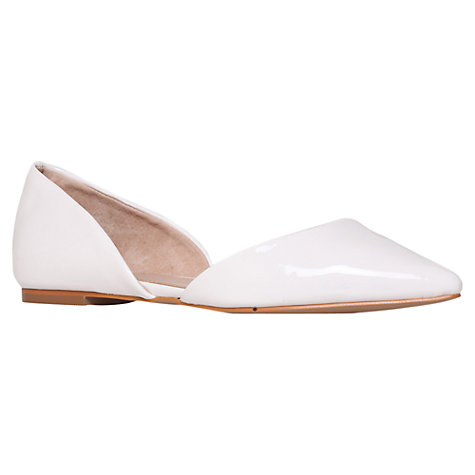 Buy Carvela Hannibel Flat Court Shoes Online at johnlewis.com