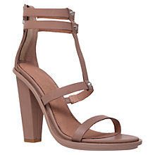 Buy KG by Kurt Geiger Grow Heeled Sandals, Nude Online at johnlewis.com